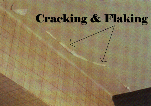 Cracking and Flaking